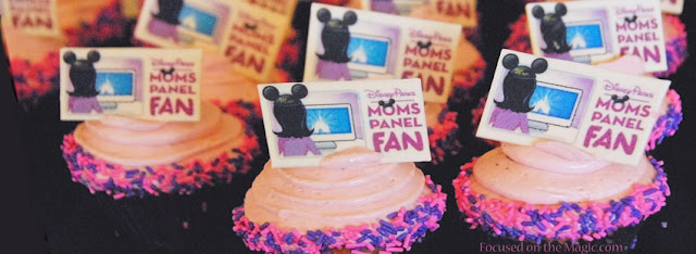 Disney Parks Moms Panel Fan Luncheon Cupcake, Disney Contemporary Resort, Walt Disney World ~ photo by Deb Silhan