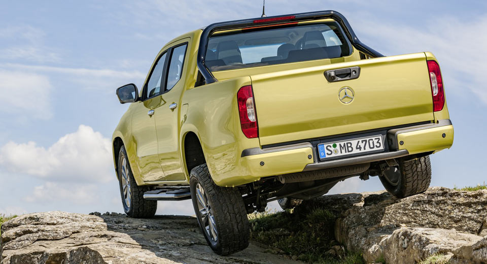 Mercedes-Benz X-Class Ute unveiled