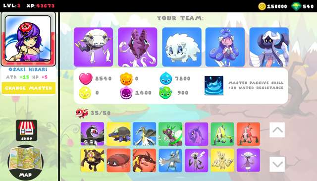 Cute Monsters Battle Arena PC Full