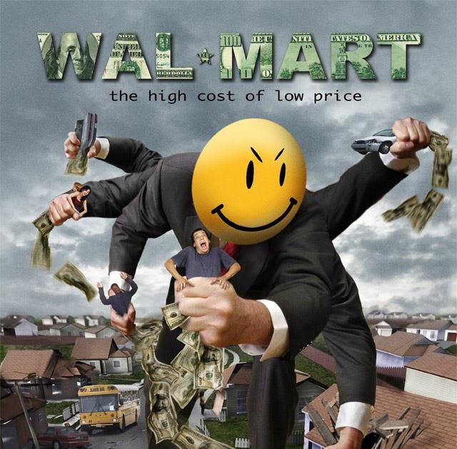 Poster do filme O Wal-Mart - O Custo Alto do Preço Baixo