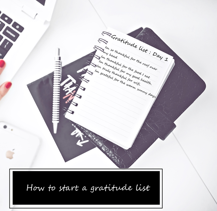 The first step to manifesting all your dreams is the gratitude list. 3 easy steps will get you on your way @meghanssilva
