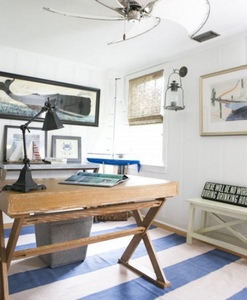 And The Office Has A Lot Of Nautical Touches Too. Want To See More Of This  Island Getaway? Head Over To The Washington Post!