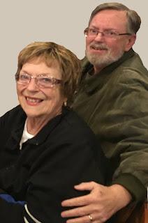 Betty Morton with Mark Leonard