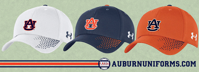 auburn under armour hat