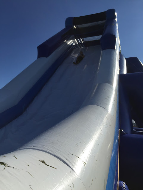 Gung-ho giant slide