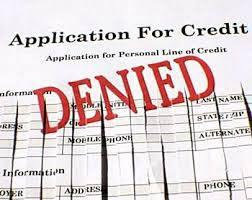 Pengajuan Kredit Ditolak