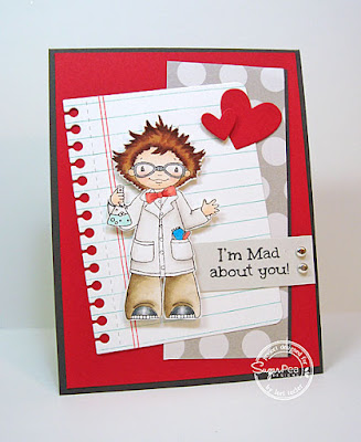 I'm Mad About You card-designed by Lori Tecler/Inking Aloud-stamps and dies from SugarPea Designs