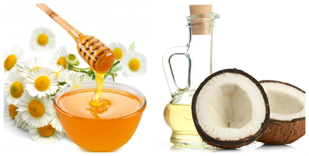 Kết quả hình ảnh cho Hỗn hợp dầu dừa, chanh với mật ong