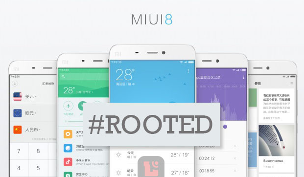 root MIUI 8 ANDROID 6,0 MARSHMALLOW