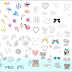 ➳ Doodles Cliparts Bundles [PNG, JPG and SVG Files]