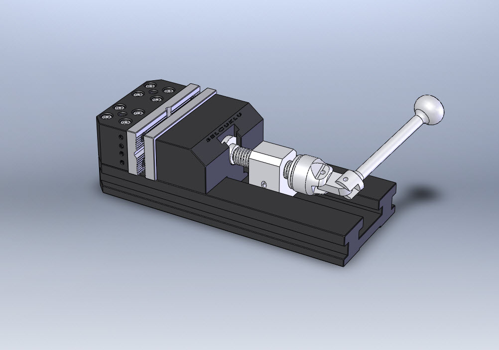 Example 3D Solidworks Model Clamps Drawing And Graphics
