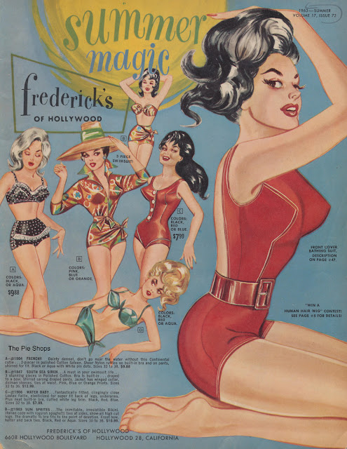 Vintage Frederick's of Hollywood Catalog
