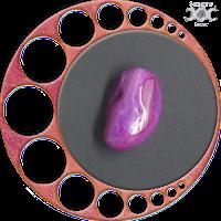 Instrumentos mágicos naturais - Presentes da Deusa Mãe: Ágata Rosa