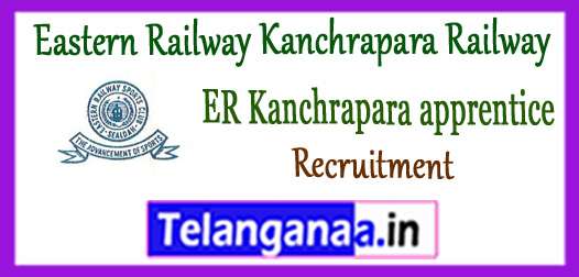 ER Eastern Railway Kanchrapara Recruitment  Apprentice Form 2018