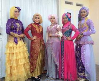 Aneka Model Kebaya Muslim Modern Untuk Kondangan Dan Resepsi Pernikahan