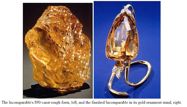 the incomparable diamond, top 10 largest diamond