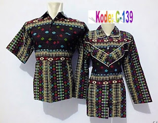 Baju batik model kemeja trend masa kini