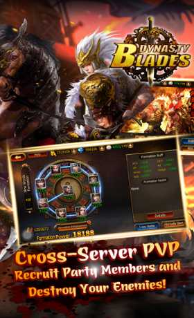 Game Dynasty Blades Warriors MMO v2.3.0 Mod Apk Unlimited Money Apk for Android