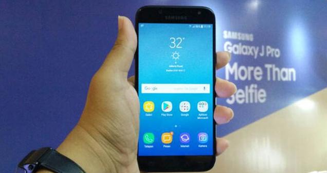 Cara Screenshot Samsung J7 Pro 2