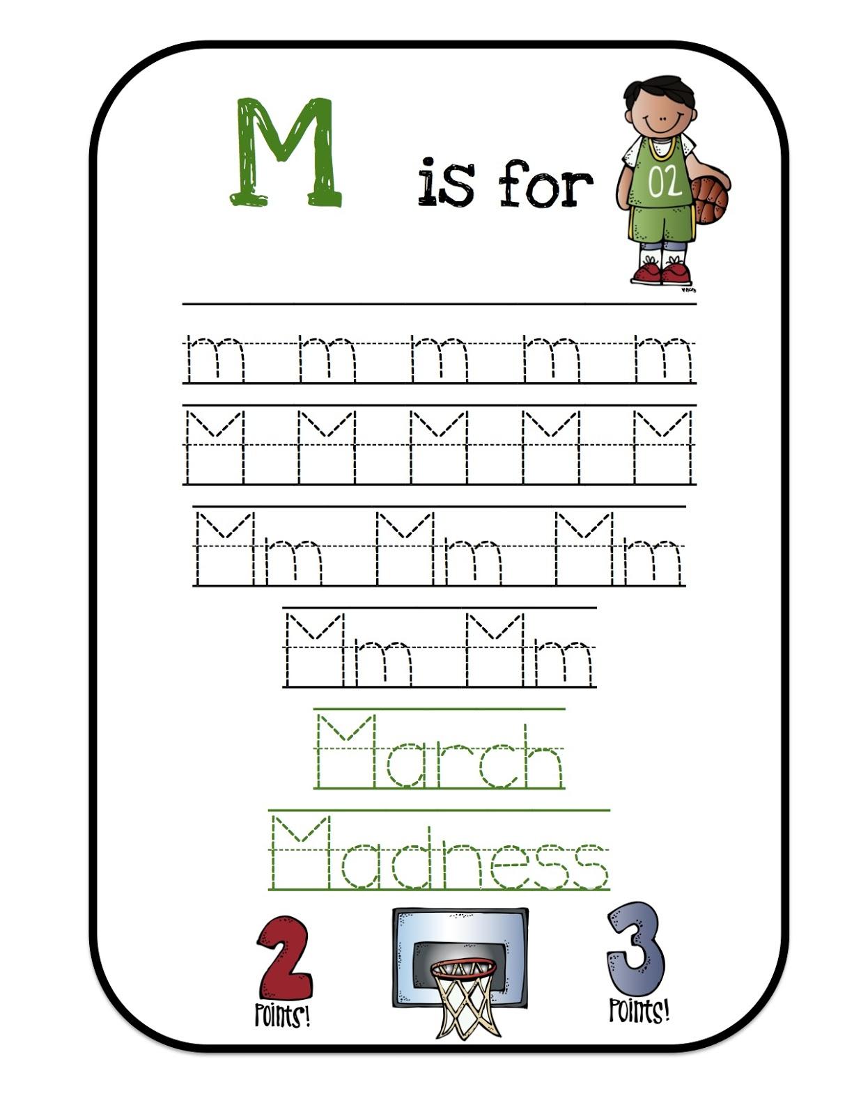 Preschool Printables March