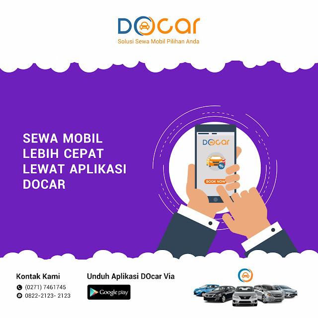 Rental Mobil Online Menggunakan Aplikasi DOcar