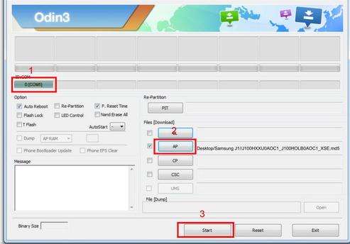 cara flashing instal ulang samsung galaxy j1 sm j100h