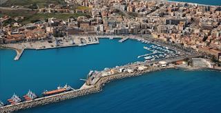 Dragaggio nel porto di Milazzo