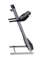 Folding deck on Intrepid i300 treadmill, image