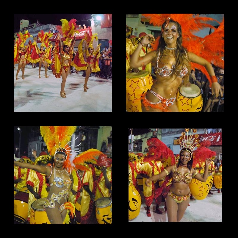 Desfile de Llamadas. Cenceribo la Teja.