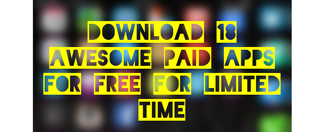 so we bring you a daily app deals for you to download these awesome paid apps for free for iPhone, iPad and iPod touch for limited time