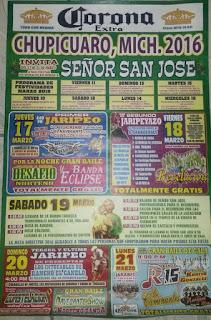 fiestas chupícuaro 2020