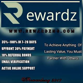 Rewardzng launching 13 Nov 2017...