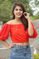 Rhea Chakraborty in Red Crop Top and Denim Shorts Spicy Pics ~  Exclusive 306.JPG
