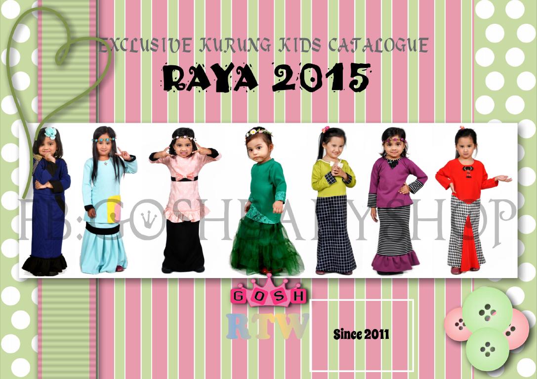 Gosh Moms And Kids Store Katalog Baju Kurung Kanak Kanak Raya 2015