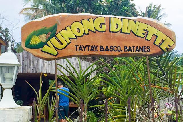 Vunong Dinette Restaurant in Batanes