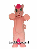 MLP Fake Pinkie Pie Fursuit Costume