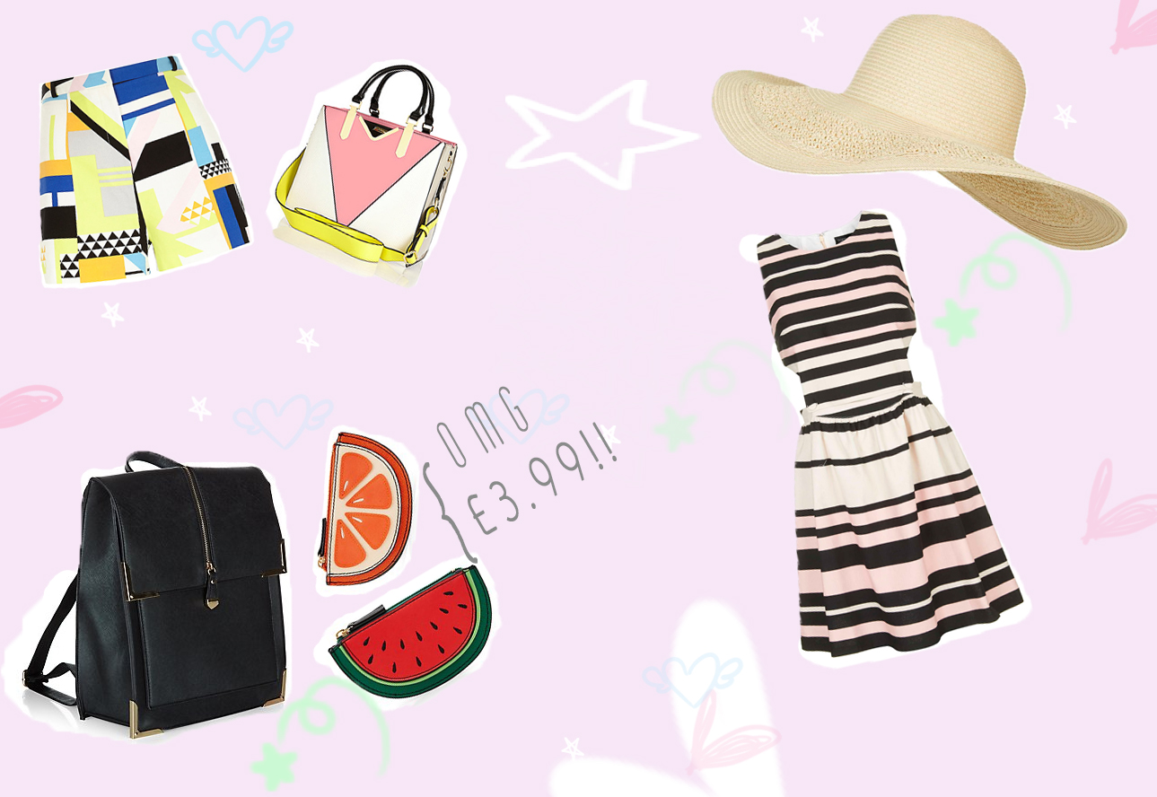 spring wishlist || new look topshop river island
