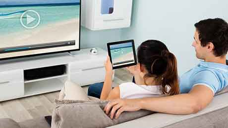 Fiber Optic Wi-Fi, TV and Telephone: