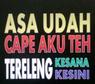 Gambar kata bahasa Sunda
