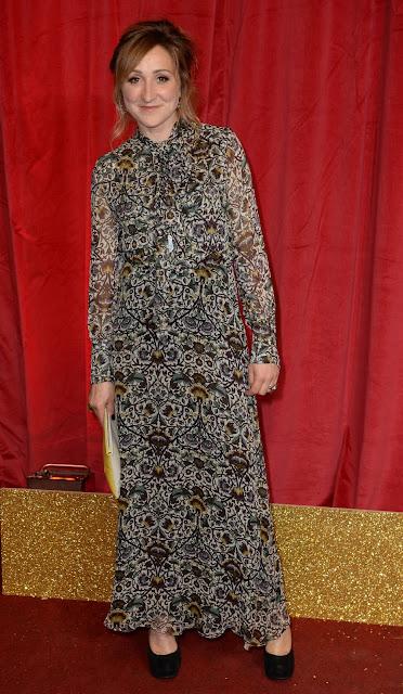 Actress, @ Charlotte Bellamy - British Soap Awards 2016 London