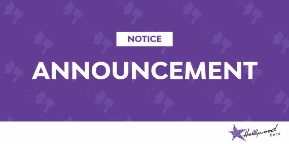 Announcement - Hollywoodbets - Notice