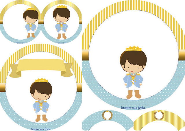 Charming Prince: Free Printable Wrappers and Toppers.