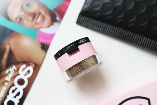 ASOS Dual Glitter Pot in Inquisitive | The Beauty is a Beast