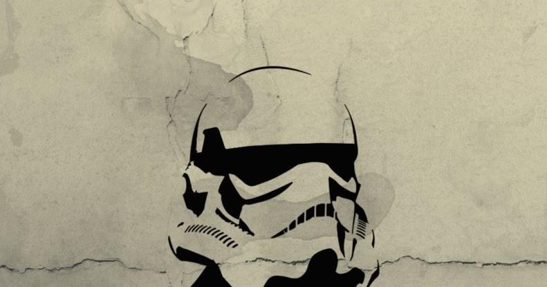 Amazing Stencils : Star Wars - Stormtrooper + Man Stencil
