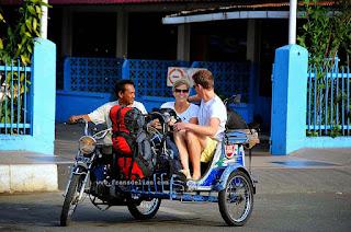 Tingkatkan Layanan Transportasi Wisata, Abang Becak Dilatih
