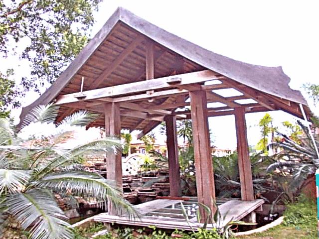Harga pergola kayu Murah