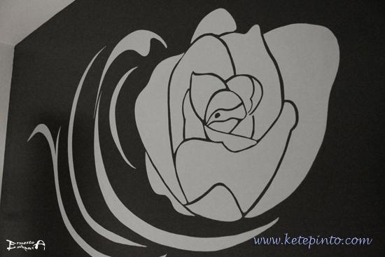 Como decorar un dormitorio con una rosa