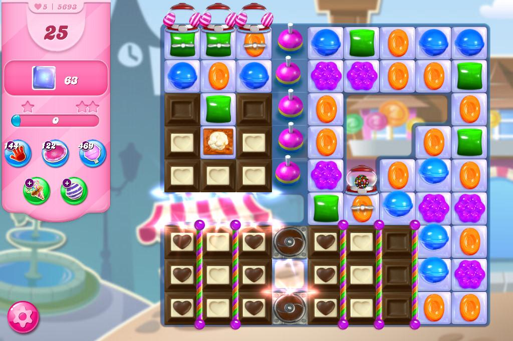 Candy Crush Saga level 5693