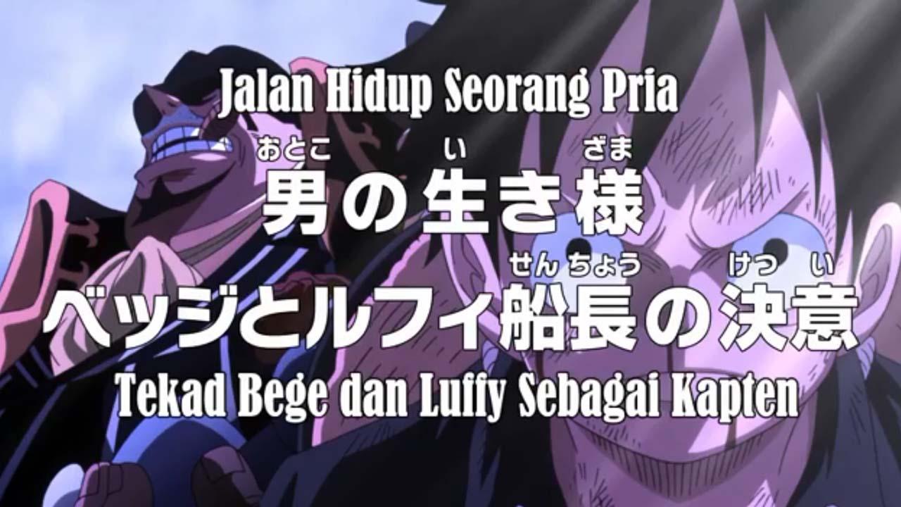 Nonton One Piece Episode 860 Subtitle Indonesia