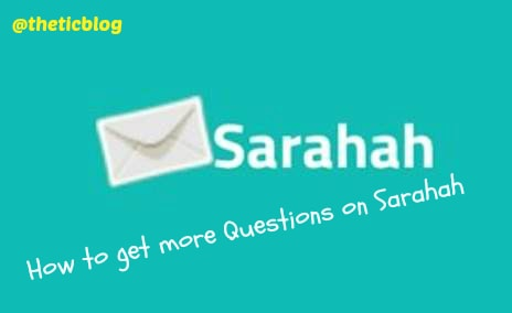 How to get more questions on Sarahah app